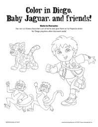 Go Diego Go Schoolfamily Go Diego Go Coloring Pages