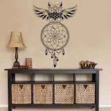 Owl Wall Sticker Compare Prices On Wall Sticker Owl Dream Catcher Online Shopping