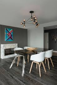 58 best edge lighting kitchen and dining room images on pinterest the warm black finish combined with the geometric construction of the bola suspension light gives this modern dining space a bold contrast