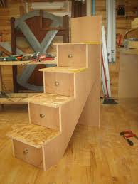 Plans For Building Triple Bunk Beds by Building The Stairs And Installation Spackle U0026 Sawdust Nuwe