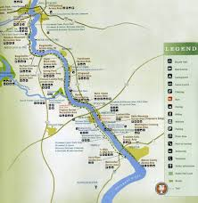 Ca State Parks Map by Delaware Canal State Park Maplets