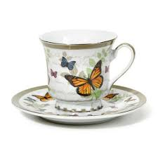 cup price butterfly discount tea cups and saucers set of 6 cheap price