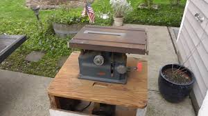 companion power tools vintage bench saw youtube