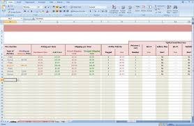 Ebay Excel Template Free Ebay Accounting Spreadsheet Ebay Spreadsheet Template