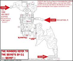 Secret Map Image Secrets Map Doom Ii No Rest For Living Map 04 Jpg