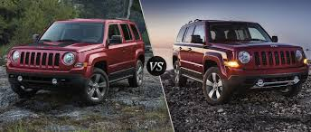 2017 jeep patriot 2016 jeep patriot sport vs 2016 jeep patriot high altitude edition