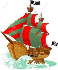 10 119 pirate ship cliparts stock vector and royalty free pirate