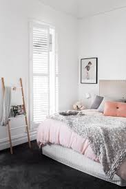 Black And White Bedroom With Color Accents Best 25 White Wall Bedroom Ideas On Pinterest Pink Teen