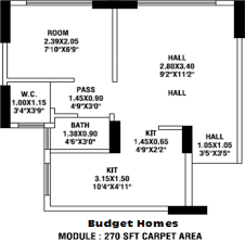 hdil the nest in mulund west mumbai price location map floor