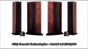 floor standing speakers for home theater worlds 20 most expensive speakers over 100 000 youtube