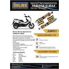 ohlins rear suspension ya110025