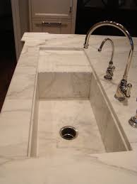 modern kitchen sink with drain boards and chrome faucet 25 best marble sinks and worktops images on pinterest kitchens