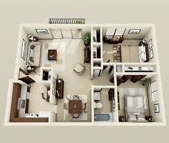 Two Bedroom Apartment Design Ideas Stunning Two Bedroom Apartment Design Ideas 1000 Ideas About 2