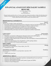 benefits analyst sample resume financial analyst resume examples 67 images finance resume