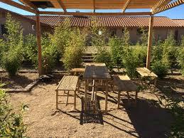 teahouse in the bamboo garden of the american zen monastery