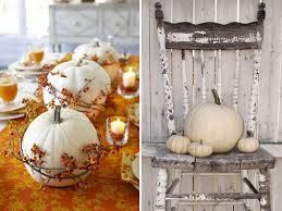 autumn decorations white pumpkin neutral fall decor co