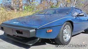 lotus esprit s1 the coolest car a van could beat youtube
