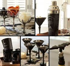 Pottery Barn Halloween Decorations Halloween Decor Halloween Cocktail Shakers Martini Glass