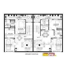 house plan for 60 feet by 39 feet plot plot size 260 square yards
