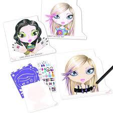 make up u0026 hair sketch portfolio kids creativity from craftyarts
