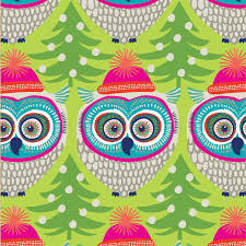 owl christmas wrapping paper winter owl wrapping paper roll 24 x 15 christmas wrap