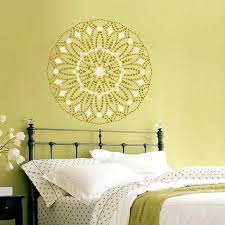wall ideas stencil art for wall stencil art designs for walls
