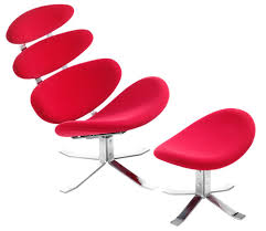 trendsetting petal lounge chair by zuo modern idesignarch