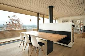 25 Space Savvy Banquettes With Surprising Dining Room Banquette Contemporary Best Image Engine