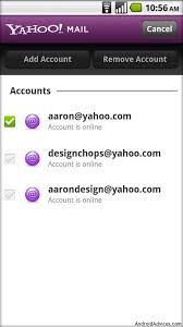yahoo mail android how to setup yahoo mail on android devices android advices