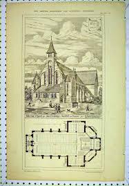 7 print 1878 new church saint george denbhill deene floor plan