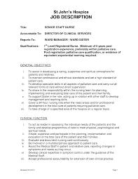 Icu Rn Job Description Resume by Best Registered Nurse Job Description Xpertresumes Com