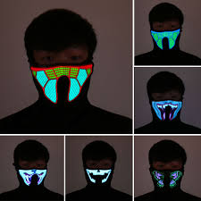 Online Buy Wholesale Led Halloween Mask From China Led Halloween