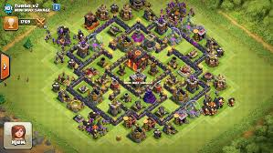 layout design th7 humor found the best layout for th7 5 clashofclans
