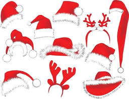 vector christmas hat free vector download 7 587 free vector for
