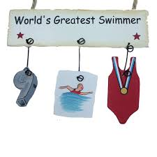 world s greatest swimmer ornament justhersport store view