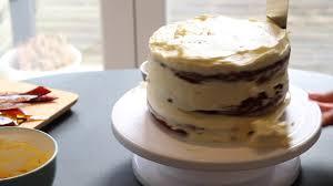how to assembly a sticky toffee creme brûlée layer cake youtube