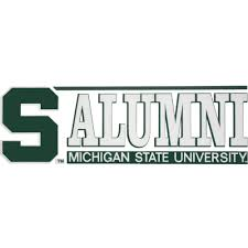 michigan state alumni license plate frame michigan state apparel michigan state clothing msu