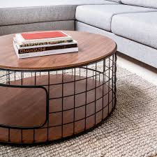 coffee table walnut wireframe coffee table accent tables gus modern