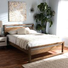 Nomad Bed Frame Nomad Platform Bed Zipusin Co