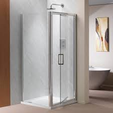 Infold Shower Door Ascent Showering 8mm Infold Doors With Easy Clean Glass Ascent