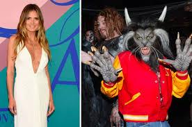 10 Amazing Heidi Klum Halloween Costumes Copy Heidi Klum Finally Revealed Halloween Costume