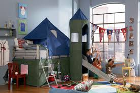 How To Make A Slide For A Bunk Bed by Camelot Boy U0027s Tent Bunk Bed