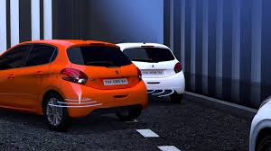 nouvelle peugeot 208 park assist youtube