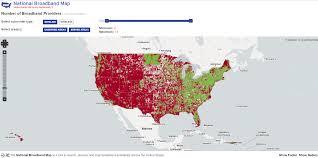 Time Warner Cable Service Area Map Here Is A Map Showing Areas Of The Us Served By A Single Isp