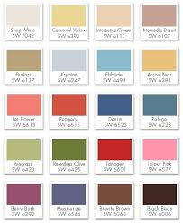 wall paint color palette 4 000 wall paint ideas