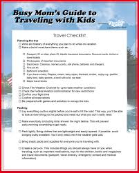 traveling checklist images Busy mom 39 s guide to traveling with kids jpg