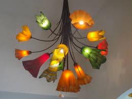 decor u0026 tips wonderful blown glass chandelier for hanging ceiling