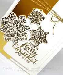a flurry of wishes holiday card stampin u0027 pretty