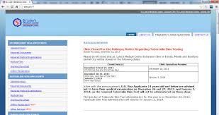 k1 visa medical exam at st luke u0027s medical center extension clinic