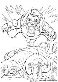 lion king coloring pages u2013 corresponsables co